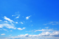 Blue sky with cloud. Background royalty free stock photos