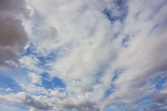 Blue sky with cloud. Blue sky background with clouds Royalty Free Stock Images