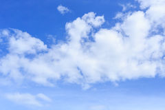 Blue sky with cloud. Bckground Royalty Free Stock Photos