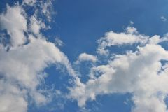 Blue sky and cloud Stock Photography