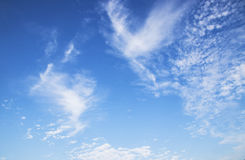 Blue sky with cloud. Beauty blue sky with cloud Stock Images