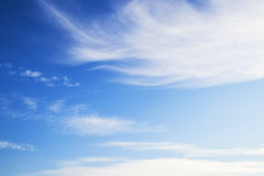 Blue sky with cloud. Beauty blue sky with cloud Royalty Free Stock Photo