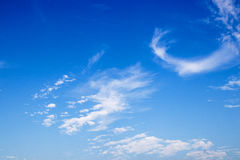 Blue sky with cloud. Beauty blue sky with cloud Royalty Free Stock Images