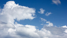 Blue sky and cloud. Blue sky and big cloud Royalty Free Stock Images