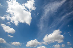 Blue sky with cloud Royalty Free Stock Photography