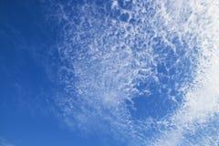 Blue sky with cloud. Clear blue sky with cloud Stock Photos