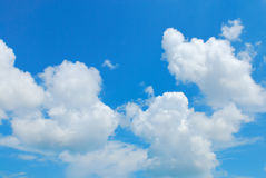Blue sky with cloud Royalty Free Stock Image