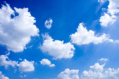 Blue sky with cloud closeup 51 Royalty Free Stock Image