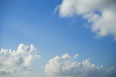 Blue sky and cloud. Stock Images
