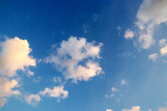 Blue sky with cloud. Royalty Free Stock Photos