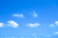 Blue sky with cloud Stock Images