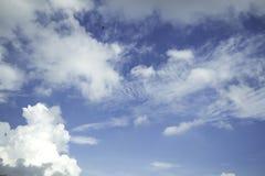 Blue sky with cloud Stock Photos