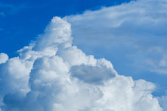Blue sky with cloud. Blue sky with cumulus cloud stock photo