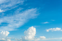 Blue Sky. And cloud day time Royalty Free Stock Photography