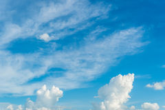 Blue Sky. And cloud day time Royalty Free Stock Photos