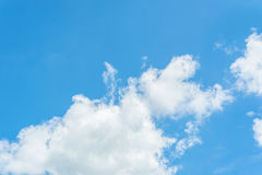Blue Sky. And cloud day time Royalty Free Stock Image