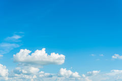 Blue Sky. And cloud day time Stock Photography