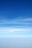 Blue sky. And cloud good for background Stock Photography