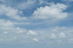 Blue sky cloud Stock Photography