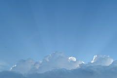 Blue sky cloud Stock Photos