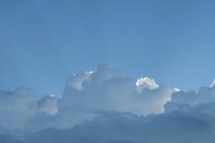 Blue sky cloud Stock Photo
