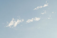Blue sky cloud. Nature cloudscape with blue sky and white cloud Royalty Free Stock Image