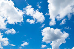 Blue sky with cloud. Pic of blue sky with cloud Stock Photo
