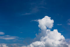 Blue sky cloud Royalty Free Stock Photography