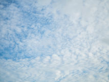 Blue sky and cloud. Wallpaper royalty free stock image