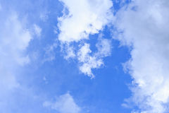 Blue sky with cloud. Blue sky with white cloud Royalty Free Stock Images