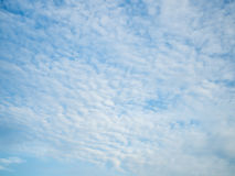 Blue sky and cloud. Blue sky and white cloud royalty free stock photo