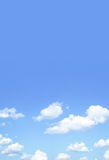 Blue sky and clouds Royalty Free Stock Photography