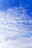 Blue sky and clouds. Background abstract: blue sky and clouds Stock Image