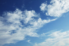 Blue sky and clouds Stock Images