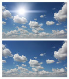 Blue sky and clouds Royalty Free Stock Image