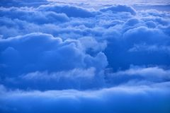 Blue sky and clouds royalty free stock photo