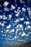 Blue sky clouds Royalty Free Stock Image
