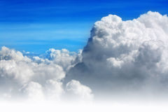 Blue sky and clouds. Clouds with blue sky background Royalty Free Stock Image