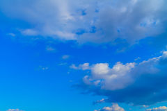 .Blue sky with clouds Stock Photography