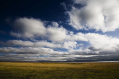 Blue sky in clouds Royalty Free Stock Photography