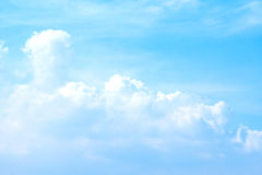 Blue sky and clouds abstract background Stock Image