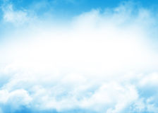 Blue sky and clouds abstract background Royalty Free Stock Photography