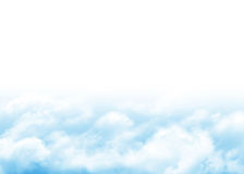 Blue sky and clouds abstract background Stock Photos