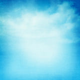 Blue sky and clouds abstract illustration Royalty Free Stock Photos