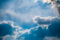 Blue sky. Royalty Free Stock Image