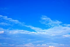 Blue sky with clouds background 171019 0229 Royalty Free Stock Photo