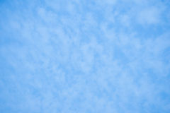 Blue sky with clouds. Background Royalty Free Stock Images