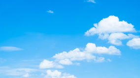 Blue sky with clouds. Clouds with blue sky background Royalty Free Stock Photo