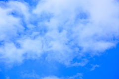 Blue sky and clouds background. royalty free stock image