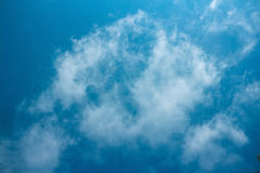 Blue sky. And clouds background Stock Image